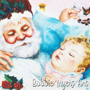 SantaWithBaby